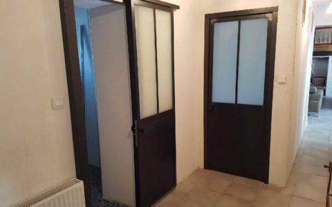 Porte Métal Type Atelier